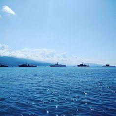 День ВМФ. 3 года назад был в Севастополе сейчас в Новороссийске. В детстве хотел стать моряком :) #ships #sea #новороссийск