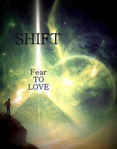 Fear is a disruptor. Love brings harmony. #love #spirituality