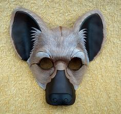 Hyaena Mask by *merimask on deviantART Book Costumes, Theatre Costumes, Diy Costumes, Lion King Play, Lion King 4, King Jr, Lion King Musical, Lion King Broadway, Mascara Papel Mache