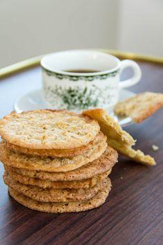 Havreflarn- a thin, light crisp cookie