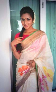 Amala Paul in Onam Saree