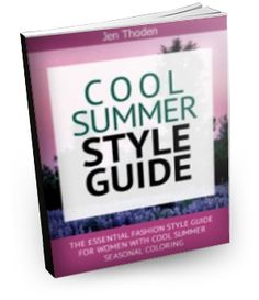 """How to Wear Your Cool Summer Colors For Every Occassion and Mood... So That You Look and Feel Beautiful Everyday"" Click to learn more..."