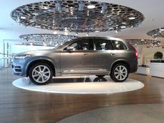 new Volvo XC90 @ Volvo Showroom Stockholm