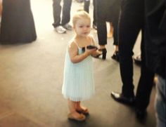 We hope Harper Beckham one day graces the catwalk!