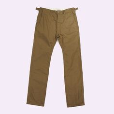 engineered garments - usn pant - cotton whipcord