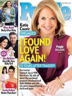 ON NEWSSTANDS 9/6/13: Katie Couric finds love after losing her husband 15  years ago. Plus: Meet Alec Baldwin's new daughter and more in this week's PEOPLE! http://www.people.com/people/article/0,,20731084,00.html