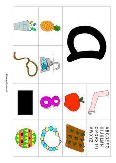 Veel kaarten van elke letter Werkbladen - taal - letters leren ~ Juf Milou Free Preschool, Preschool Worksheets, Primary School, Pre School, Letter School, Alphabet, Beginning Sounds, School Posters, Letter J