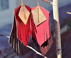 How To Make Leather Jewelry: 9 Jewelry Tutorials You'll Want To Try Right Away | Craft Paper Scissors