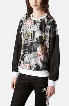 Want to wear this immediately! Topshop x adidas