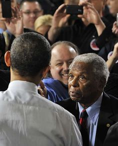 Civil rights leader Judge Damon Keith | The Detroit News