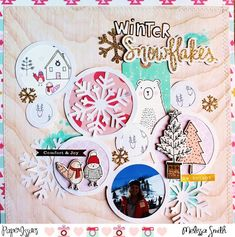 Paper Issues: Product Spotlight: Crate Paper's Snow & Cocoa #melissasmith