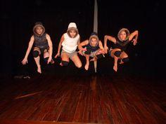 Java Dance Company. Survivor 2010. Dancers Natalie Hona, Elizabeth Walker, Isabelle Nelson, Sacha Copland