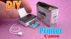 How to make a mini Canon Printer. Give your feedbacks, comments and likes my videos - it's a great support for me! Thank you ♥ Material: PVC Foam Board Sheet...