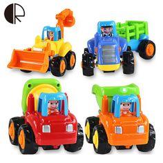 Miễn phí vận chuyển Cao chất lượng hộp ban đầu Trẻ Em Bãi Biển bé đồ chơi kéo trở lại xe chơi công cụ cát đồ chơi xe tải 4 cái/lốc Quà Tặng HT066