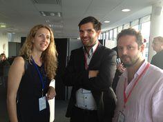 Orixa Media chez Google Paris. Olivier Arriat, Fabien Guillossou d'Orixa Media