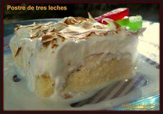 Tarta de tres leches. :>Las recetas de Tere;;