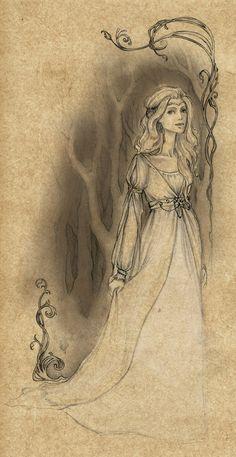 The Lady of Rivendell (Celebrían) by Achen089 on deviantART