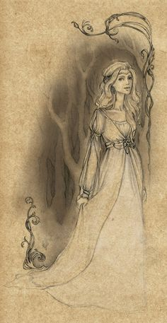 The Lady of Rivendell (Celebrían) by Achen089 on deviantART