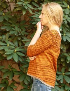 Torbellino Top Knitting pattern by Kristen Jancuk