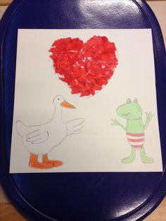 Kikker is verliefd