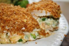 Jalapeno Popper Chicken. We loved this so much I'm making it again tonight.