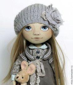Коллекционные куклы ручной работы. Заказать Дарья. Куклы от Томы. Ярмарка Мастеров. Текстильная кукла, подарок женщине, кружево хлопок