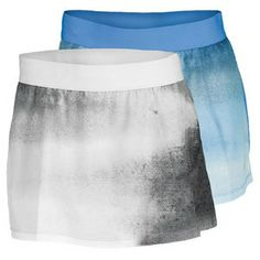 """Dri-FIT Technology with four-way stretch fabric makes the Nike Women's Slam Print Tennis Skirt the must-have tennis gear for players at all levels. An elastic waistband with silicone strip prevents slippage so your skirt won't move when you do. The poly/spandex blend means this skirt will retain its shape and place in your wardrobe for many seasons to come. All-over print updates the look of this classic cut. Length: 30 cmTechnical Benefits: Dri-FITLength: 11.25""""Fabric: 84% Polyester / 16%…"""