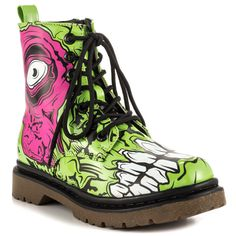 Iron Fist ZOMBIE STOMPER COMBAT BOOT Womens Ghoul Punk Goth  #IronFist #boot #Casual