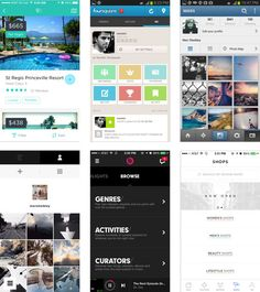 11. Most apps are basically just lists  16 killer design tips for creating mobile apps | App design | Creative Bloq