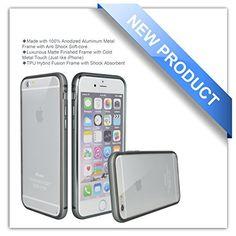 $4.90 (51% Off) on LootHoot.com - iPhone 6 Case, Zio [Aluminum Metal Frame] [TPU…