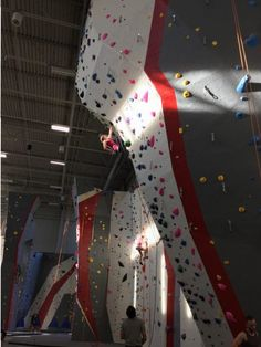 Panelized rock climbing wall in a Chicago IL corporate office   rock ...