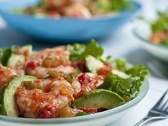 Pico De Gallo Shrimp & Avocado Salad