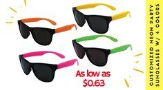 ebd7c21c08 Custom Navigator Neon Sunglasses