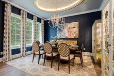 A detailed list with photos - my favorite Benjamin Moore paint colors. Benjamin Moore Bedroom, Benjamin Moore Paint, Blue Painted Walls, Dark Blue Walls, Blue Gray Paint, Neutral Paint Colors, Accent Colors, Kitchen Paint Colors, Paint Colors For Home