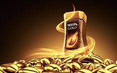 NESCAFE GOLD by AO STUDIO, via Behance PD