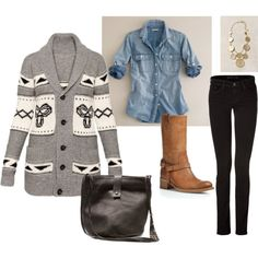 """""""Fall Comfort"""" by chibbles on Polyvore"""
