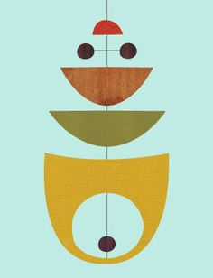 Giclee Print (Item No. P-2013-15) mobile dots