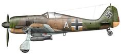 Fw190A-5 1227 White A with 4./JG54