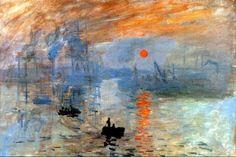 Soleil Levant, 1873, Monet - copie
