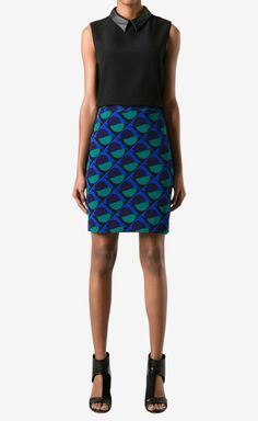Marc by Marc Jacobs Jungle Green Multi Skirt