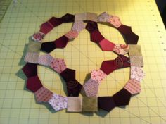 How to make your own plastic templates for english paper piecing english paper piecing quilt i am getting ready to do this quilt i bought pronofoot35fo Images