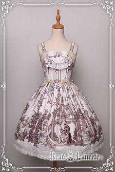 Krad Lanrete -Beauty and the Beast- Lolita Jumper Dress Version II