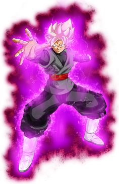 Goku Black ssj rose power kii by jaredsongohan on @DeviantArt