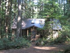 Great Cabin on the Mt Hood National Forest.