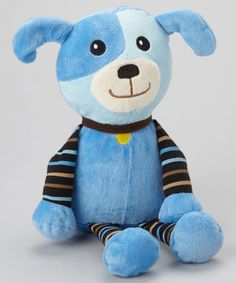 Look what I found on #zulily! Blue Puppy Plush by Stephan Baby #zulilyfinds
