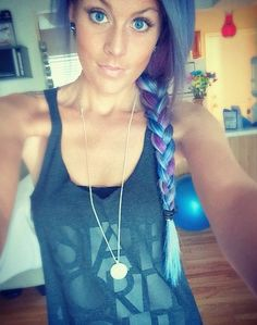 76 Real Girls Who Dare to Rock Rainbow Mermaid Hair: Celebrities are addicted to dyeing their hair various shades of the rainbow, and we have to admit we're a little jealous of their locks.