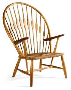 Wegner  NR JH550 Windsorzetel/Peacock Chair Ontwerp 1947