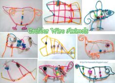 wire and bead fish...DIS