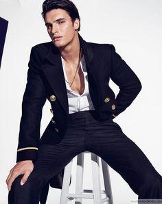 Matthew Terry para Harper's Bazaar Men Taiwan Agosto 2016 por Eric Ray Davidson