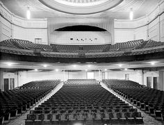 Interior of the Majestic Theatre in Manners Street, Wellington. Looks from the cinema screen, over seating, to the back of the building. Theatres, Movie Theater, New Zealand, Buildings, Cinema, Image, Movies, Theater, Films